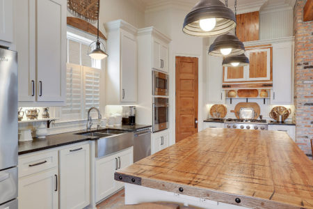 Kitchen in Custom Home